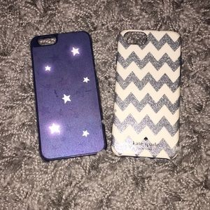 2 Kate Spade iPhone 6 phone cases